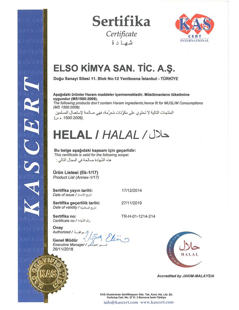elso-kimya-helal-sertifikasi